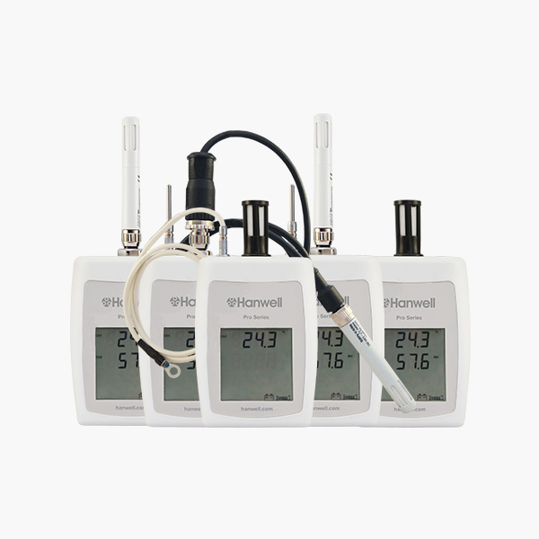 Temperature and humidity data loggers