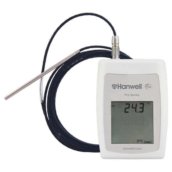 HL4401 high temperature data loggers PT100 logger