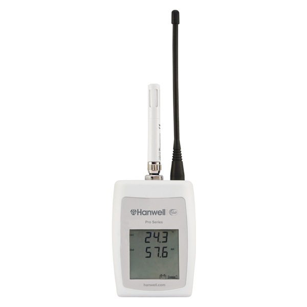 wireless temperature humidity logger