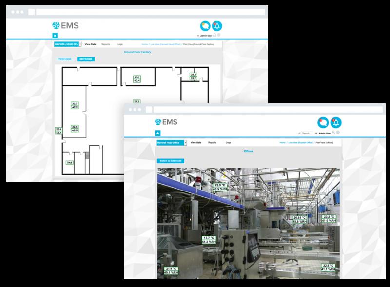 Environmental monitoring software Hanwell EMS