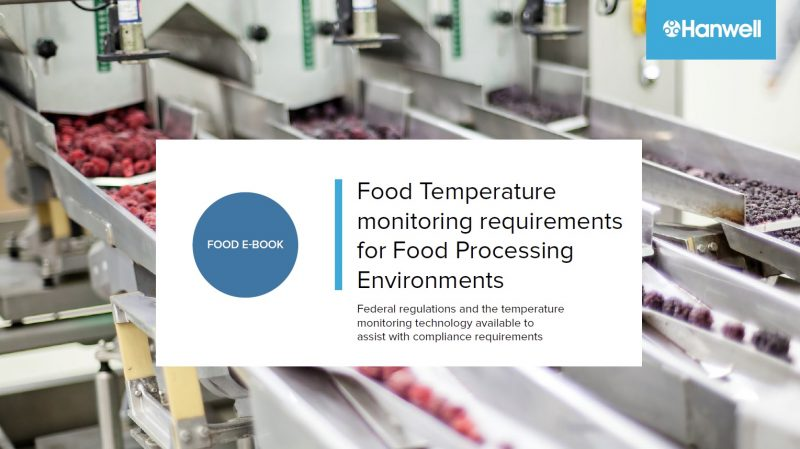 food processing temperature monitoring ebook