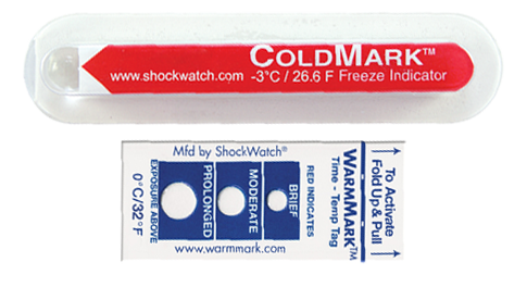 shockwatch temperature products