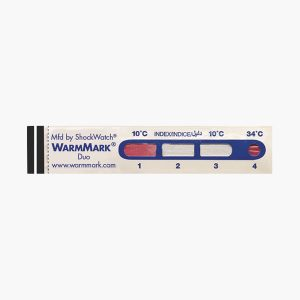 WarmMark Duo time temperature indicator