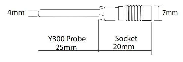Y300 temperature sensor Hanwell